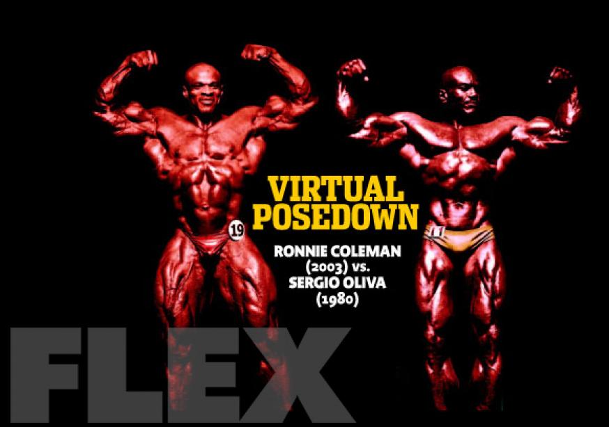 Virtual Posedown: Sergio Oliva vs. Ronnie Coleman