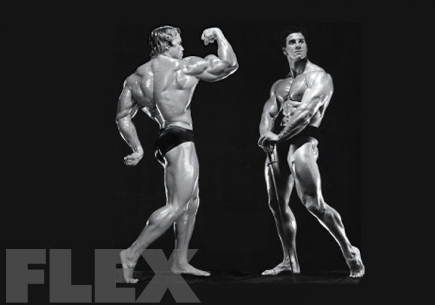 Virtual Posedown: Reg Park vs. Arnold Schwarzenegger
