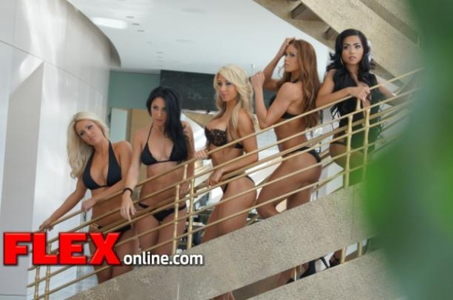 Earth Angles - 2012 FLEX Bikini Model Search Winners