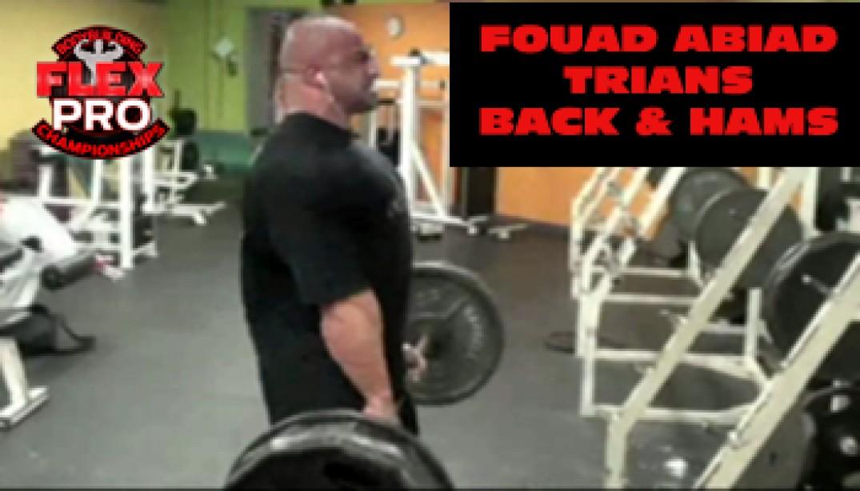 FLEX VIDEO: Fouad Abiad Trains Back & Hams