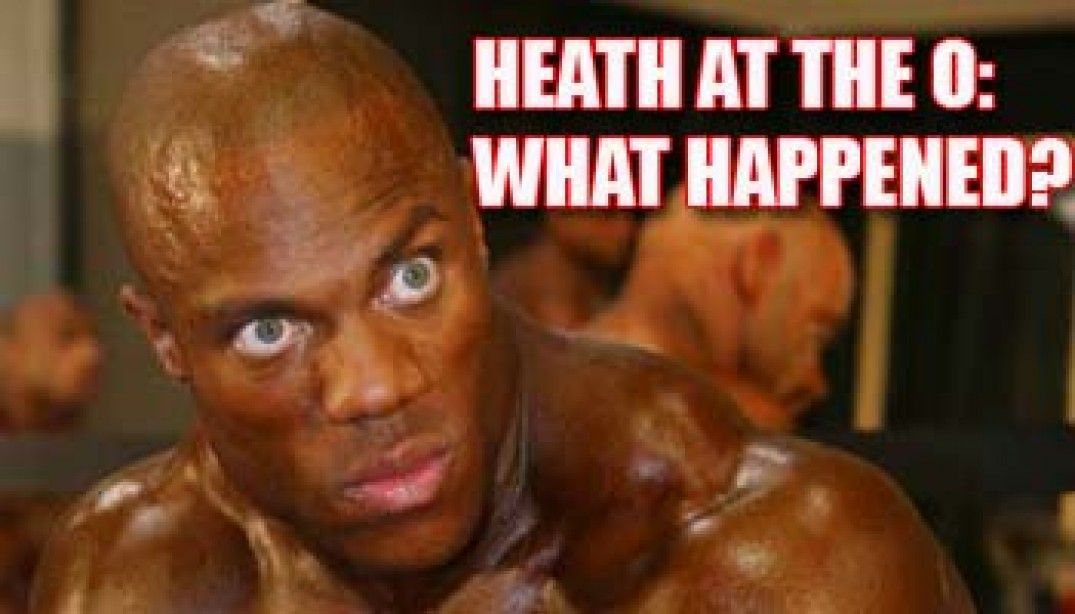 HEATH AT THE O: WHAT HAPPENED?