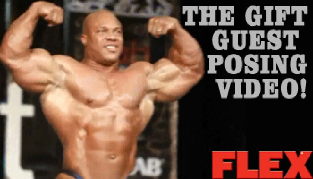 VIDEO: MASSIVE PHIL HEATH GUEST POSING!