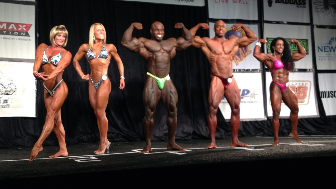 2013 IFBB North American Results