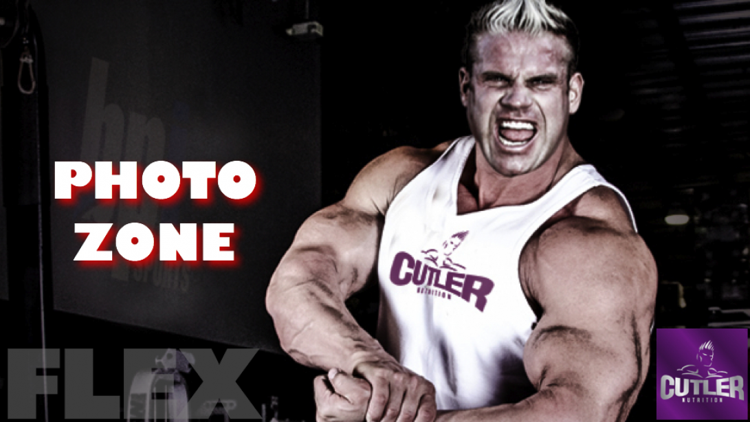 Jay Cutler Photo Zone