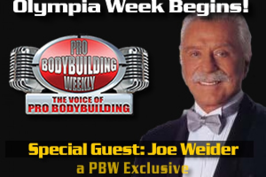 JOE WEIDER VISITS PBW