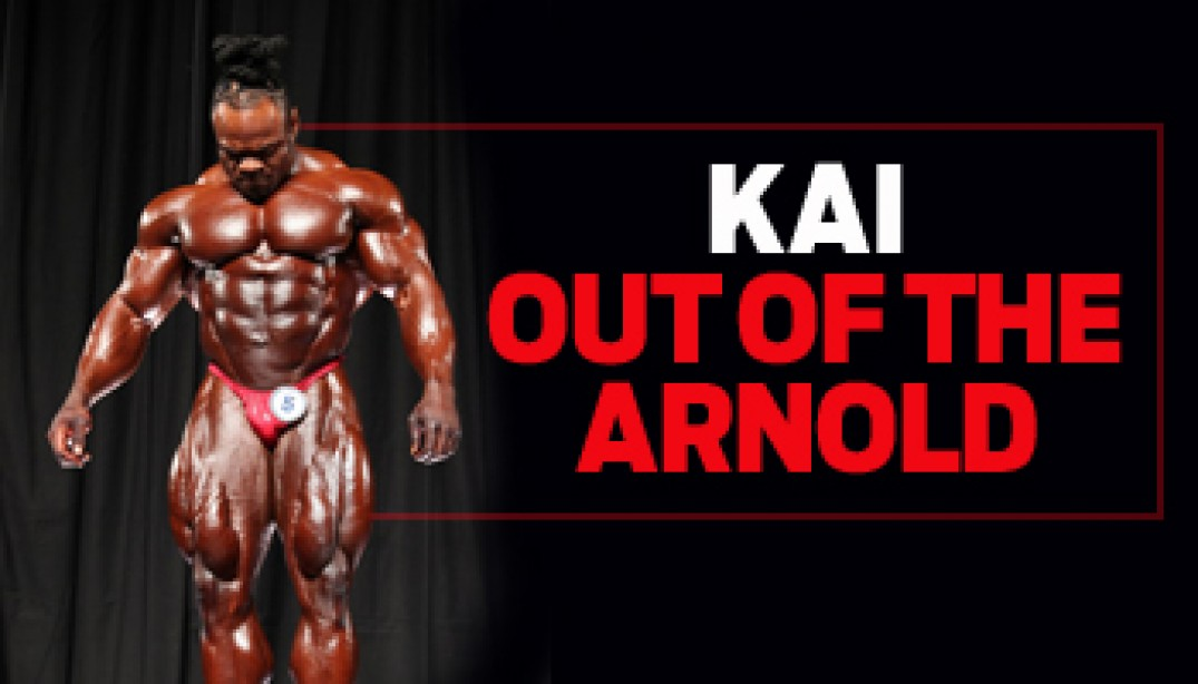 KAI OUT OF THE ARNOLD!