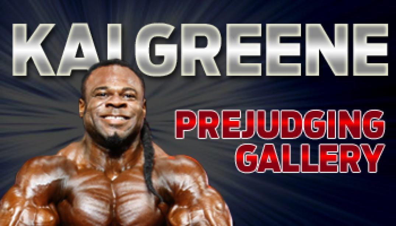 KAI GREENE PREJUDGING GALLERY