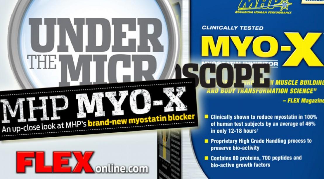 Under the Microscope: MHP MYO-X