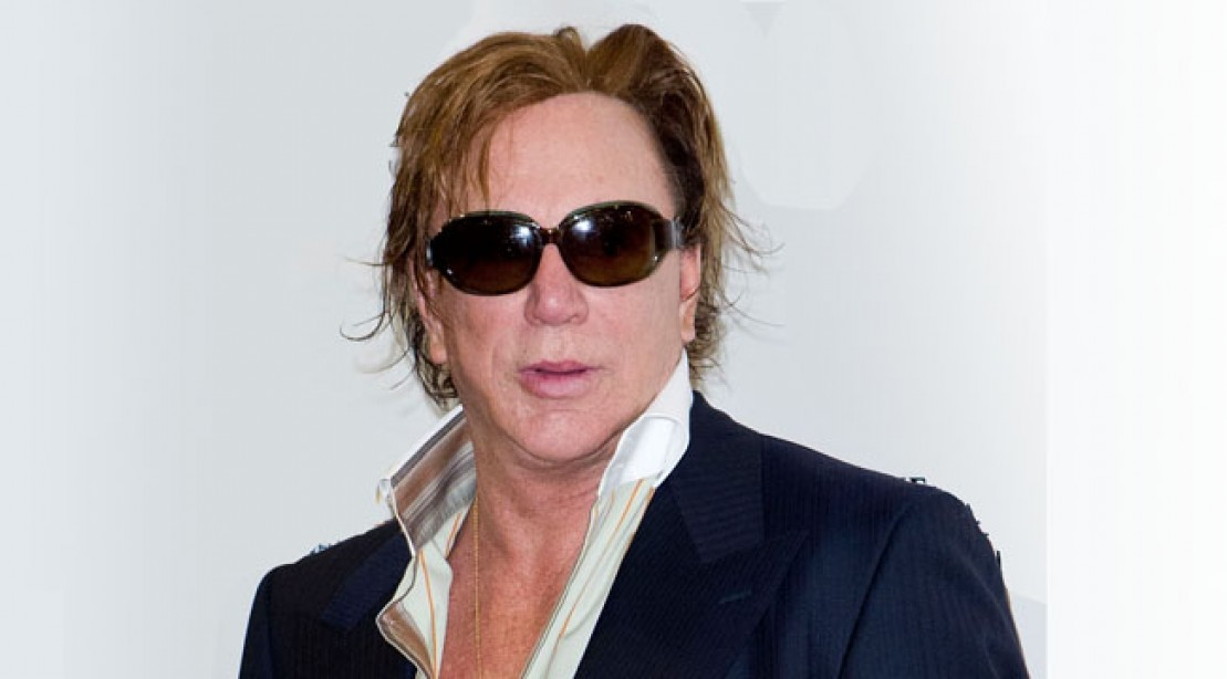 Mickey Rourke to Narrate Generation Iron