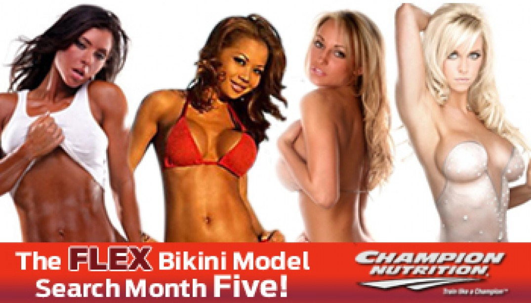 FLEX BIKINI MODEL SEARCH: MONTH FIVE