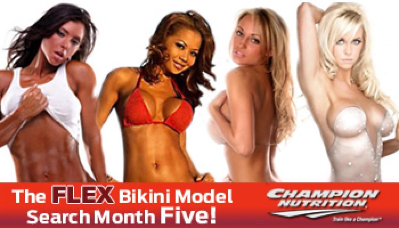 FLEX BIKINI MODEL SEARCH: MONTH FIVE