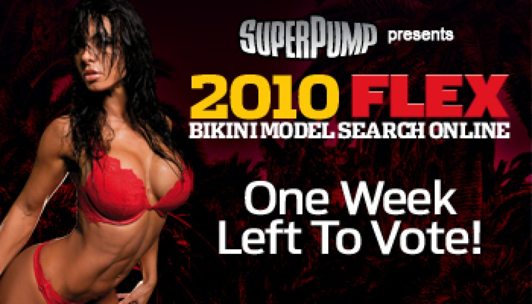 HURRY! ONE WEEK LEFT TO VOTE
