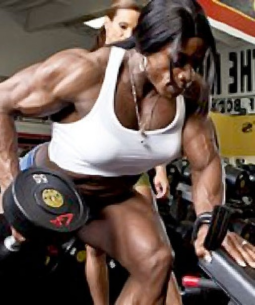 MS. OLYMPIA'S BACK