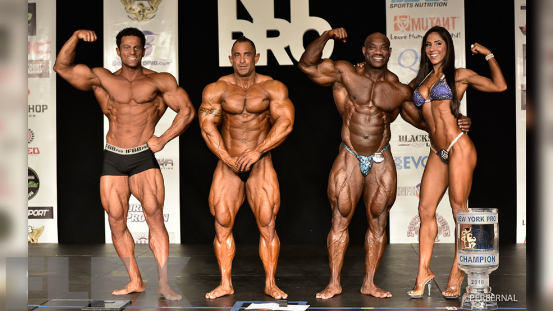 2016 IFBB New York Pro Official Scorecards
