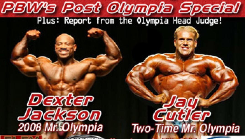PBW OLYMPIA REPORT