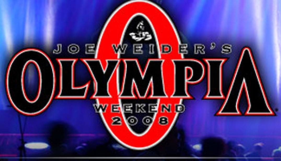 2008 MR. OLYMPIA EARLY OUTLOOK