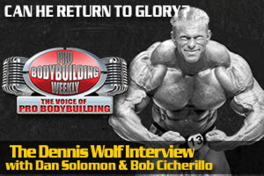 DENNIS WOLF COMES TO PBW