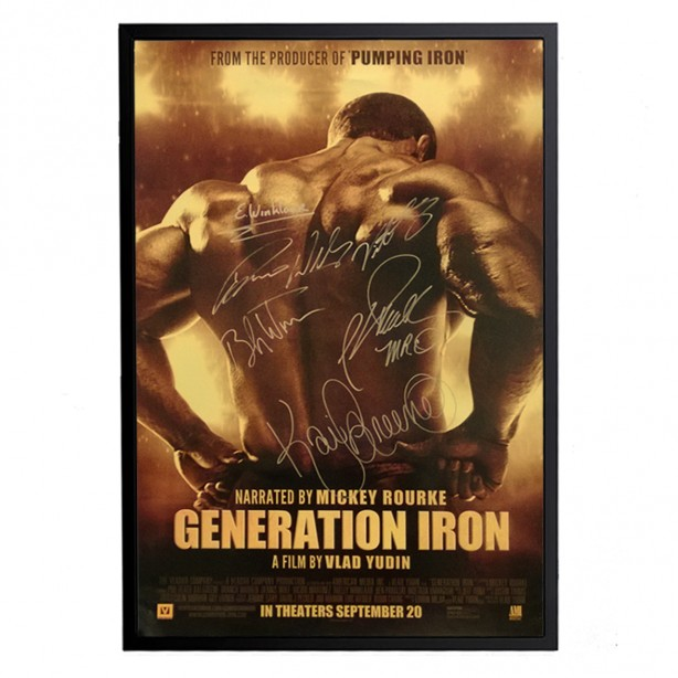 Enter the Generation Iron Scavenger Hunt!