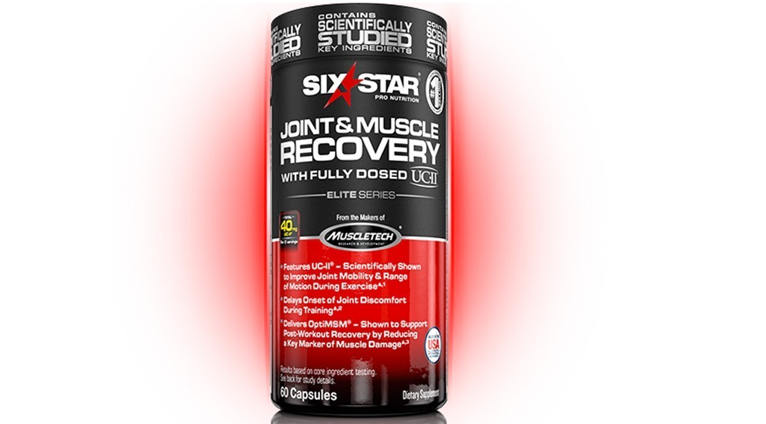 Six Star Joint and Muscle Recovery Formula for Max Results