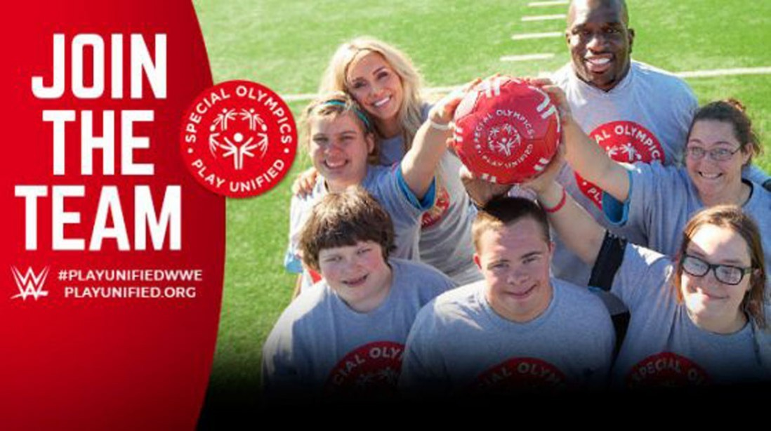 Special Olympics and WWE Announce International Partnership