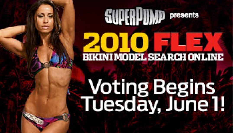 FLEX BIKINI MODEL SEARCH ONLINE VOTING STARTS JUNE 1