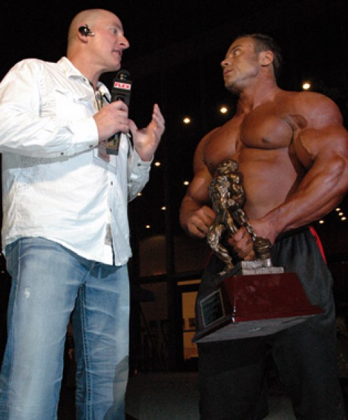 One on One Spotlight with IFBB Pro Aaron Clark