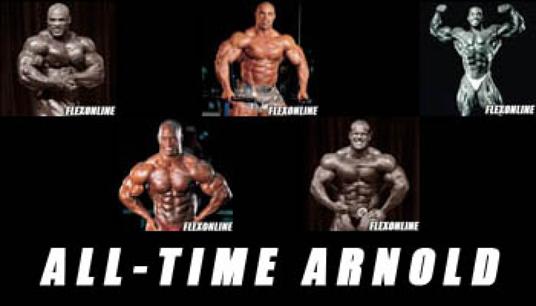 ALL-TIME ARNOLD