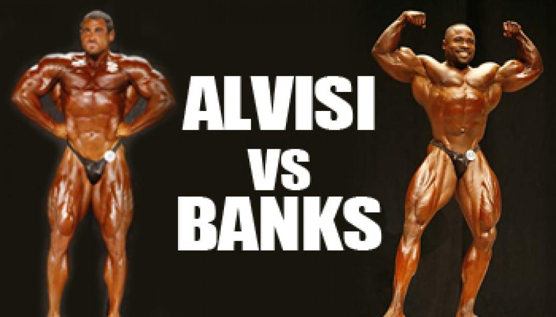 2009 NPC USA CHAMPIONSHIPS: ALVISI VS BANKS