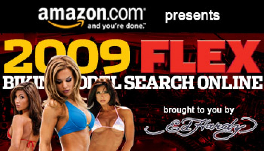ED HARDY JOINS FLEX BIKINI MODEL SEARCH