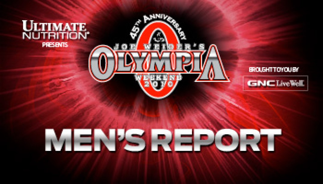 MR. OLYMPIA PREJUDING REPORT: NAIL BITER!