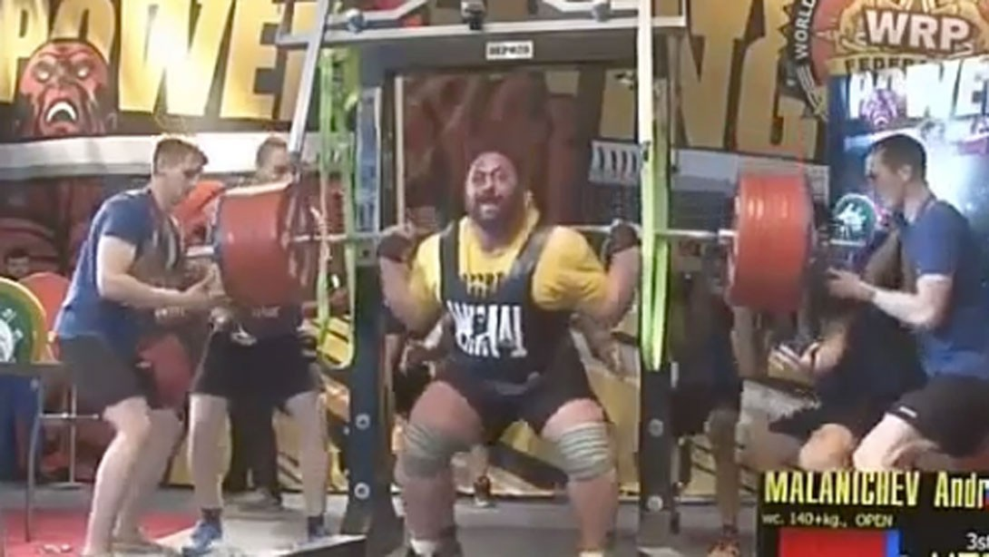Raw Strength: Russian Powerlifter Sets World Records