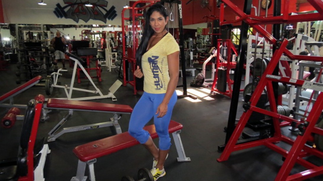 The Journey of IFBB Figure Pro Angie Garcia
