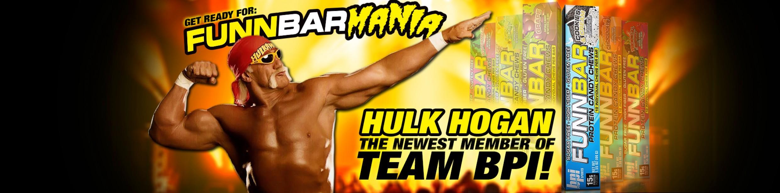Hulk Hogan Becomes the Newest Member of Team BPI