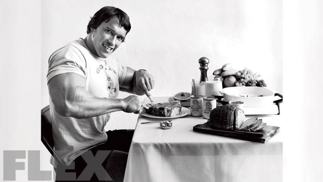 Arnold's Opinion On Vegetarianism