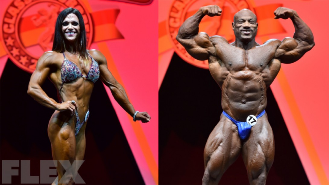 2015 Arnold Classic Europe Official Scorecards