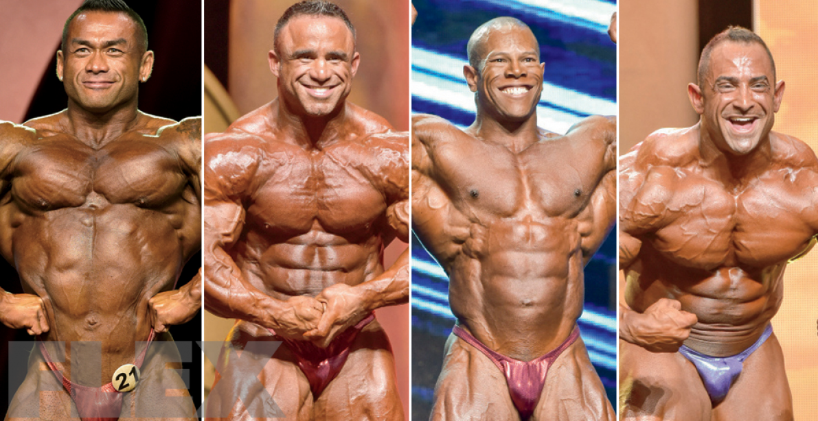 2017 Arnold Classic Lineup: 212 Bodybuilding