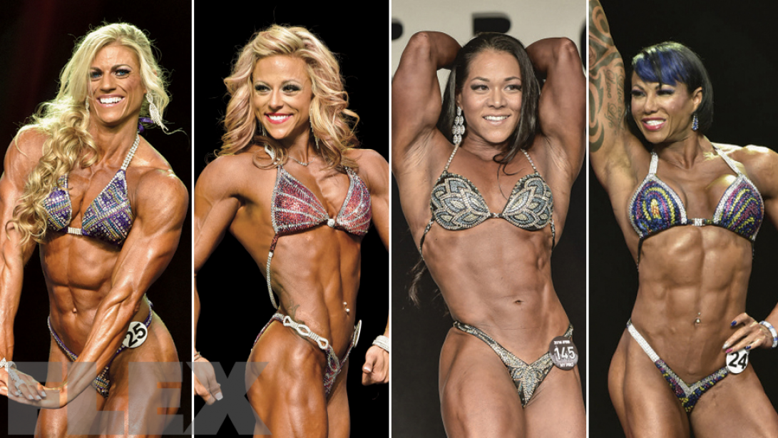 2017 Arnold Classic Lineup: Women's Physique