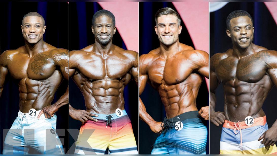 2017 Arnold Classic Lineup: Men's Physique