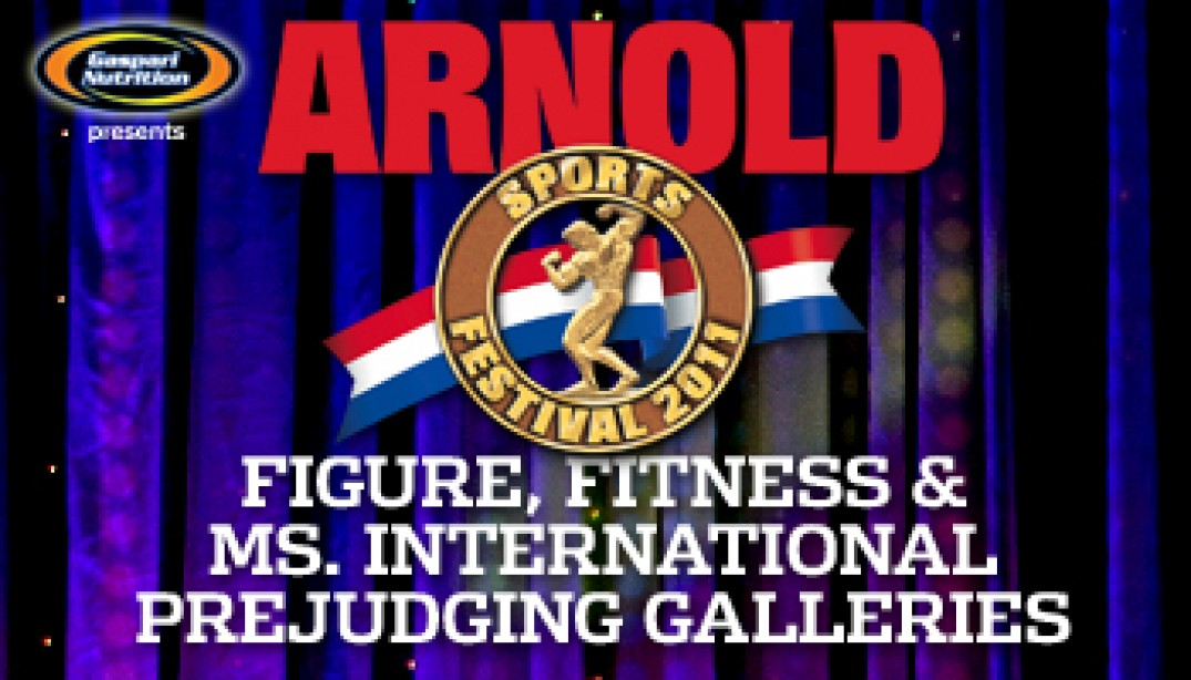 FIGURE, FITNESS AND MS. INTERNATIONAL PREJUDGING PHOTOS