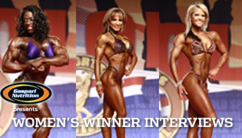 VIDEO: WOMEN'S WINNER INTERVIEWS