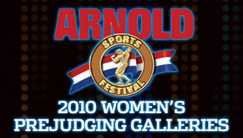 2010 ARNOLD CLASSIC WOMEN'S PREJUDGING GALLERIES