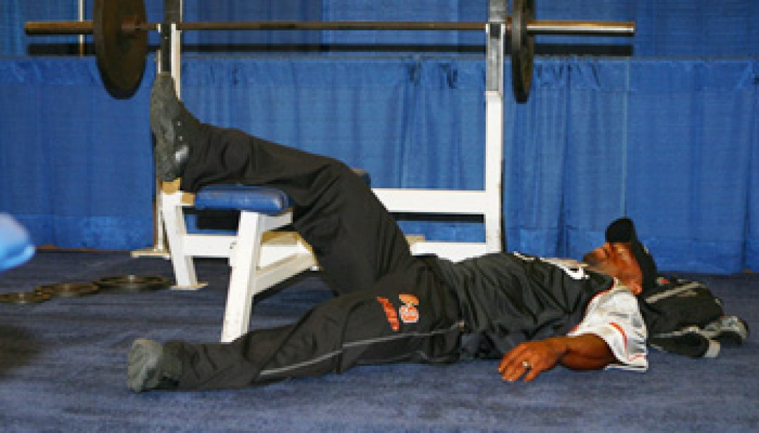 GALLERY: BACKSTAGE AT THE ARNOLD