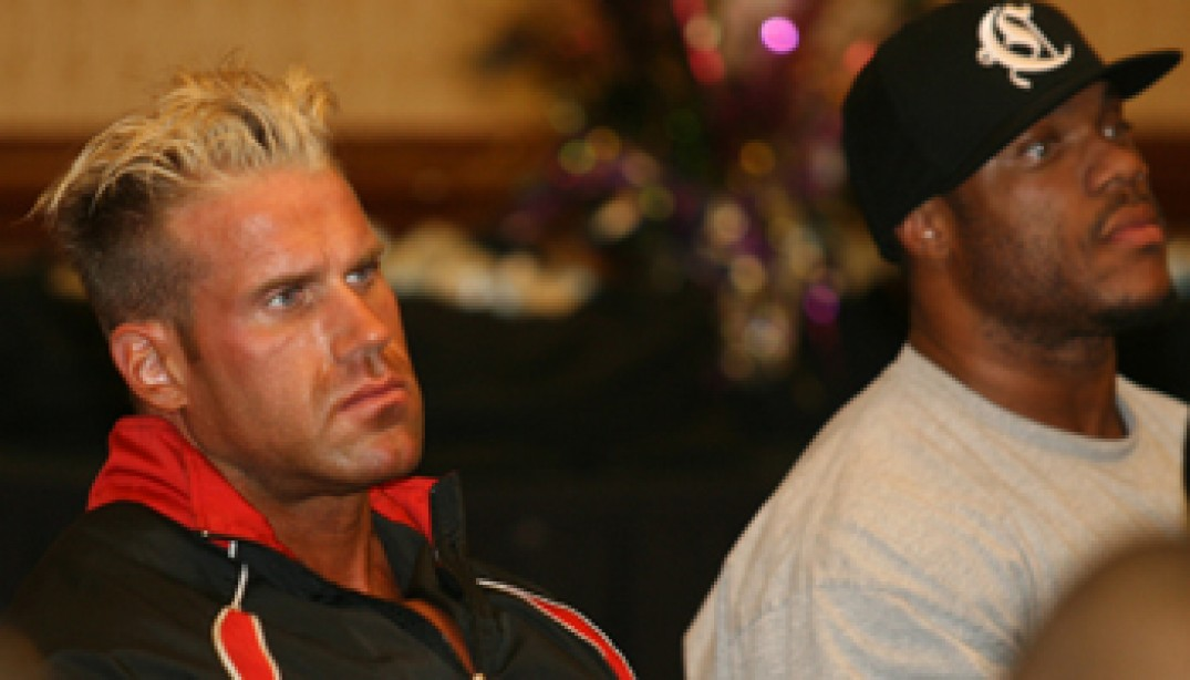 2009 MR. OLYMPIA ATHLETE MEETING GALLERIES