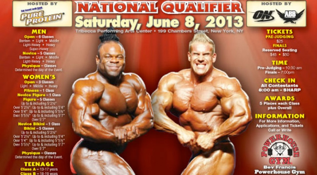 2013 NPC Atlantic States Contest Info and Poster