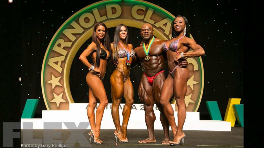 2016 Arnold Classic Australia - Official Scorecards