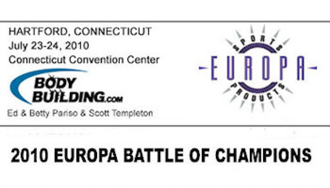 PREVIEW: 2010 IFBB EUROPA BATTLE OF CHAMPIONS