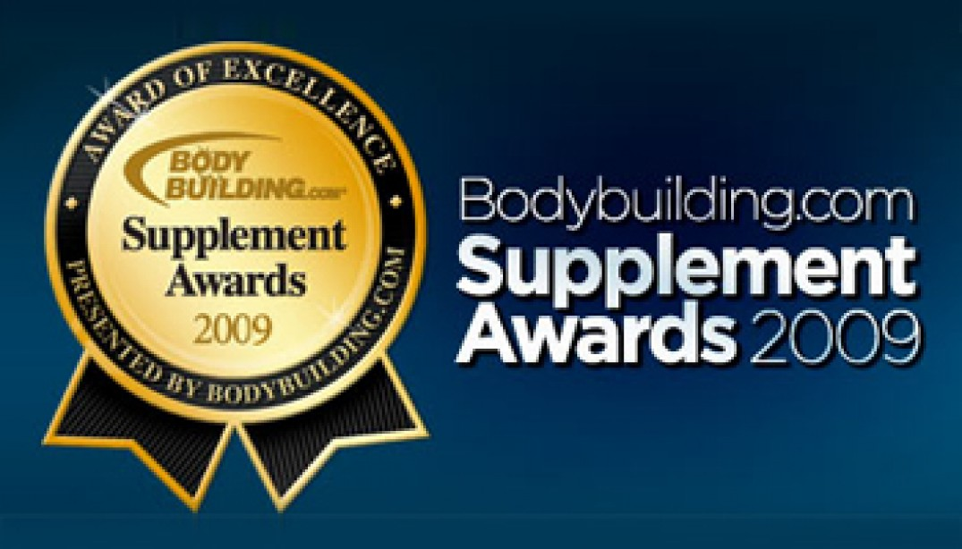 BODYBUILDING.COM ANNOUNCES 2009 SUPPLMENT AWARDS