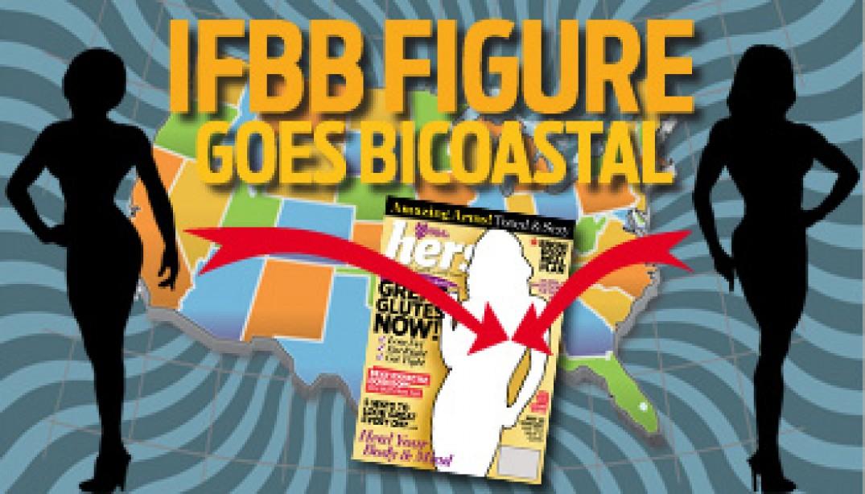 IFBB FIGURE GOES BI-COASTAL!