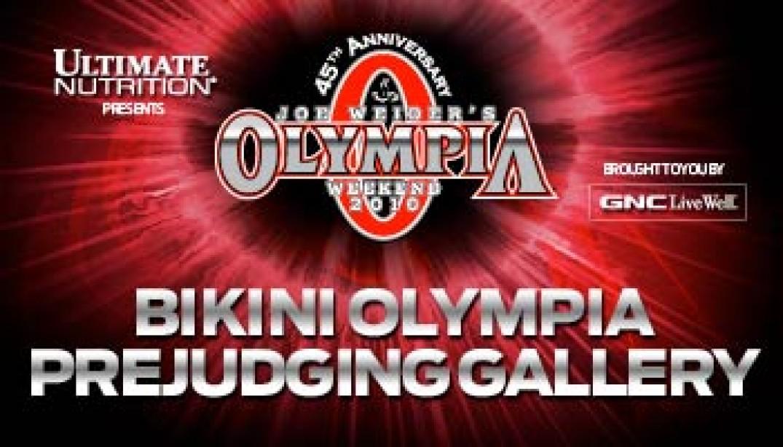 2010 BIKINI OLYMPIA PREJUDGING GALLERY