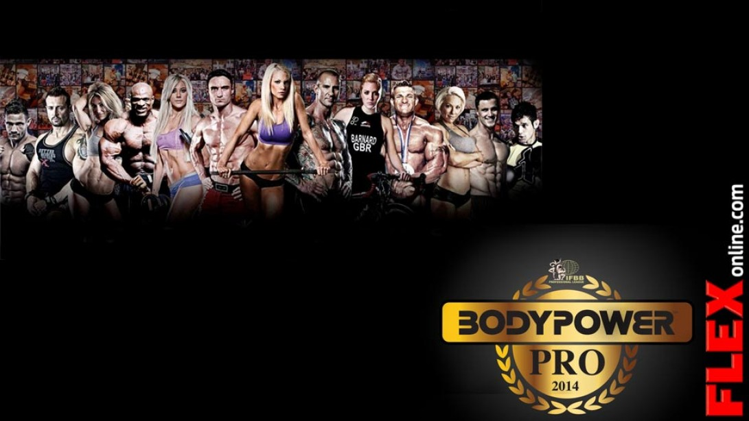 An IFBB Pro Show to Join the 2014 BodyPower Expo